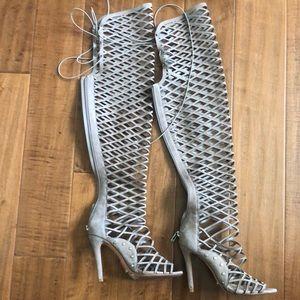 Schutz Karlita OTK Caged Stiletto Sandal